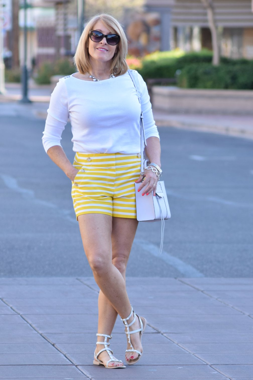 Yellow Shorts 162