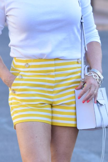Yellow shorts cu 162